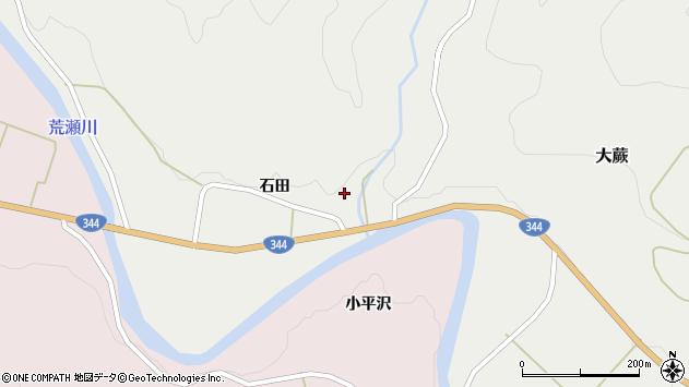 山形県酒田市大蕨石田1周辺の地図