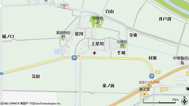 山形県酒田市大豊田家ノ前6周辺の地図