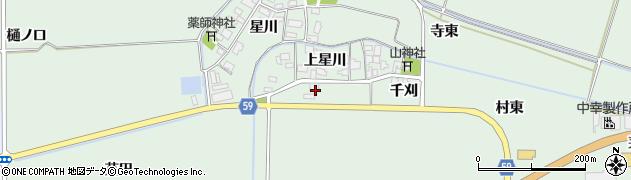 山形県酒田市大豊田家ノ前周辺の地図