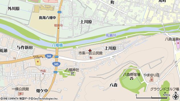 山形県酒田市市条上川原16周辺の地図