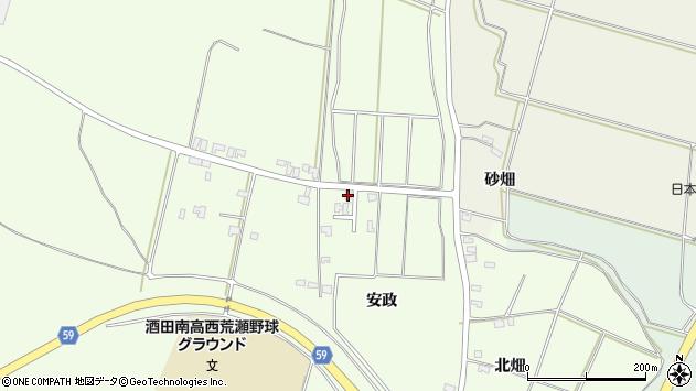 山形県酒田市宮海安政115周辺の地図