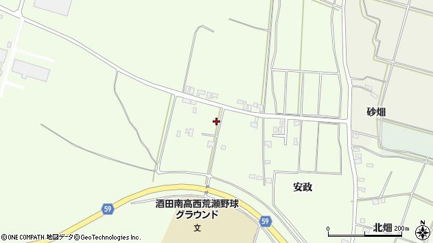 山形県酒田市宮海林内8周辺の地図