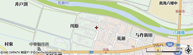 山形県酒田市法連寺川原4周辺の地図