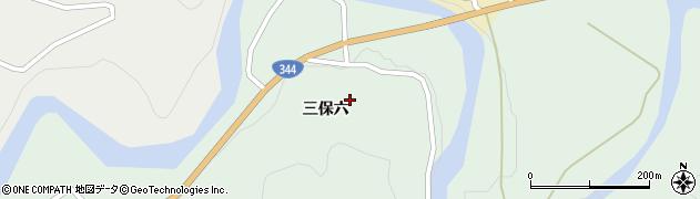 山形県酒田市上青沢三保六周辺の地図