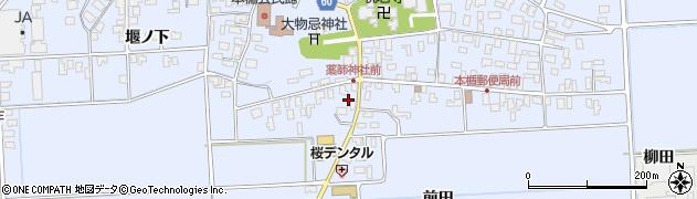山形県酒田市本楯地正免29周辺の地図