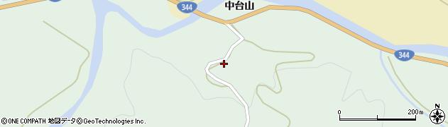 山形県酒田市上青沢中台山98周辺の地図