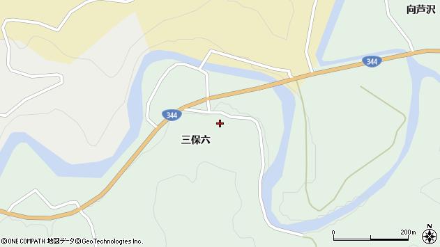 山形県酒田市上青沢三保六31周辺の地図