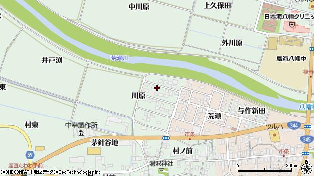 山形県酒田市法連寺川原5周辺の地図
