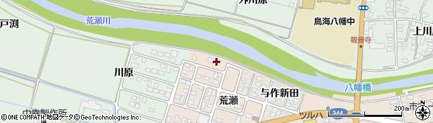 山形県酒田市市条荒瀬64周辺の地図
