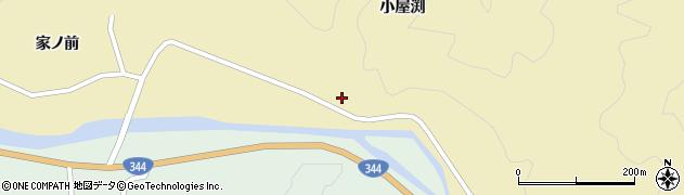 山形県酒田市北青沢小屋渕21周辺の地図