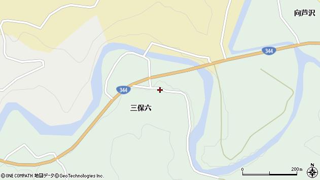 山形県酒田市上青沢三保六29周辺の地図