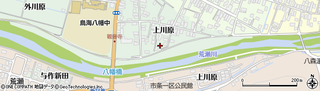 山形県酒田市小泉上川原25-1周辺の地図