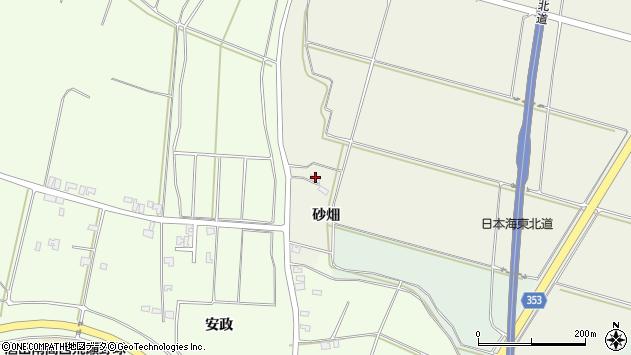山形県酒田市穂積砂畑23周辺の地図