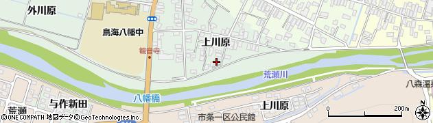 山形県酒田市小泉上川原25-4周辺の地図