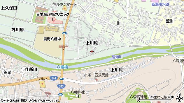 山形県酒田市小泉上川原25周辺の地図