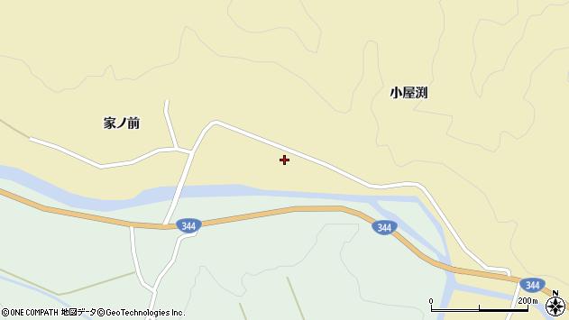 山形県酒田市北青沢家ノ前165周辺の地図