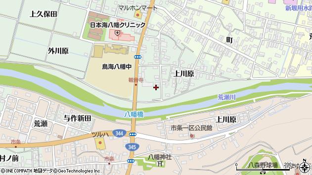 山形県酒田市小泉上川原36周辺の地図