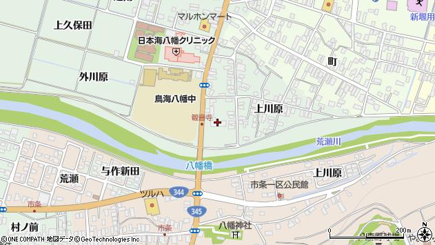山形県酒田市小泉上川原32周辺の地図