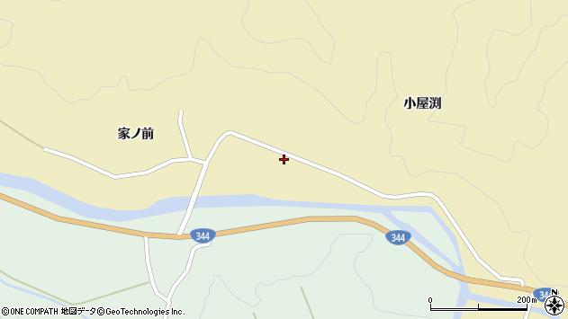 山形県酒田市北青沢家ノ前160周辺の地図