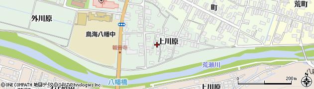 山形県酒田市小泉上川原21周辺の地図