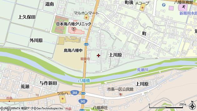 山形県酒田市小泉上川原33周辺の地図