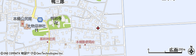 山形県酒田市本楯新田目49周辺の地図