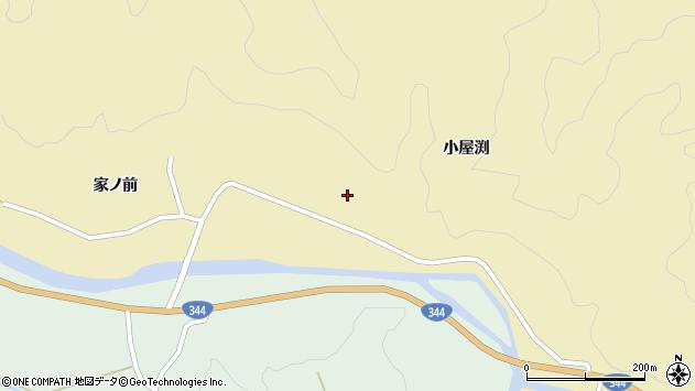 山形県酒田市北青沢家ノ前169周辺の地図
