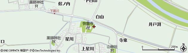 山形県酒田市大豊田星川6周辺の地図
