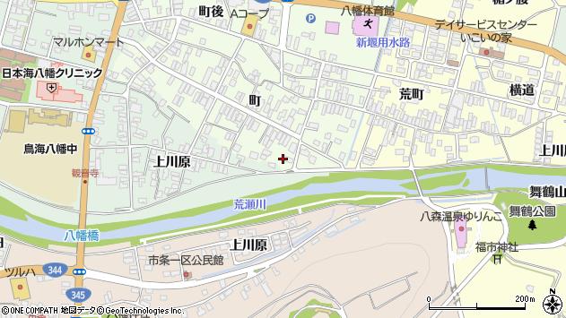 山形県酒田市観音寺町156周辺の地図