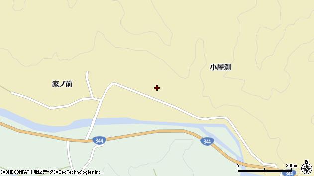 山形県酒田市北青沢家ノ前140周辺の地図