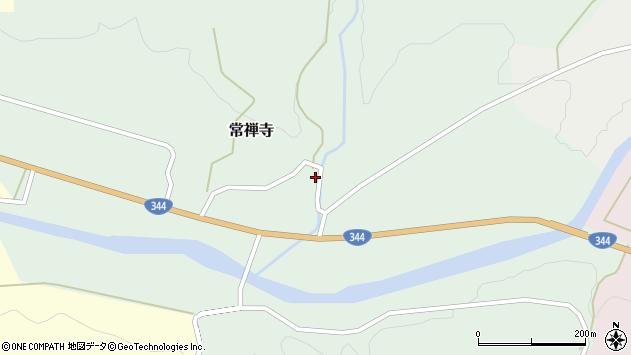 山形県酒田市常禅寺上川原13周辺の地図