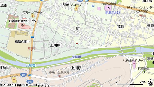 山形県酒田市観音寺町158周辺の地図
