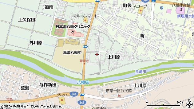 山形県酒田市小泉上川原45周辺の地図