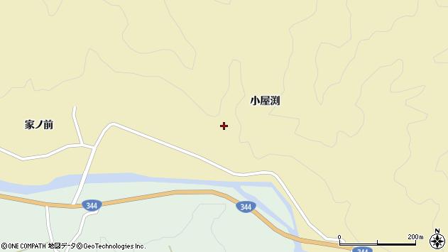 山形県酒田市北青沢小屋渕39周辺の地図