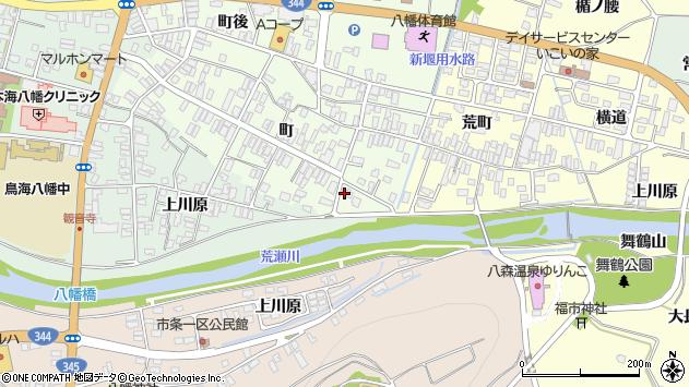 山形県酒田市観音寺町150周辺の地図