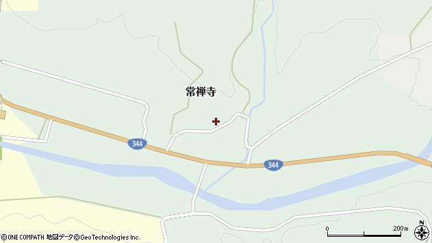 山形県酒田市常禅寺上野山11周辺の地図