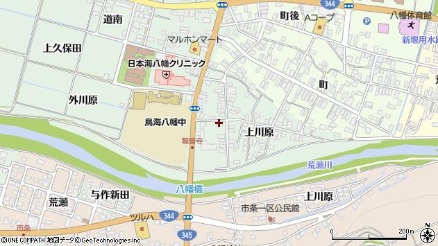 山形県酒田市小泉上川原47周辺の地図