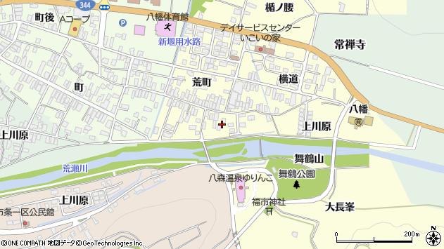 山形県酒田市麓荒町14周辺の地図