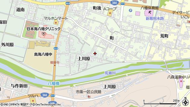山形県酒田市小泉上川原12周辺の地図
