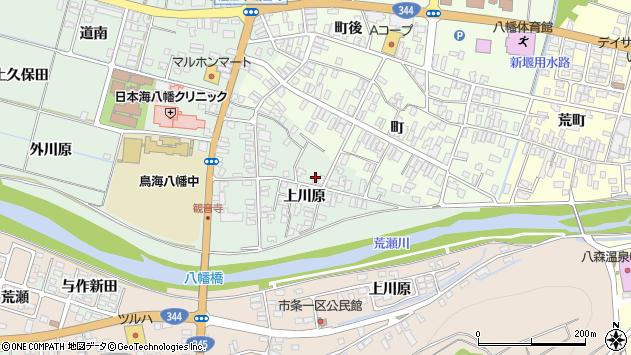 山形県酒田市小泉上川原13周辺の地図