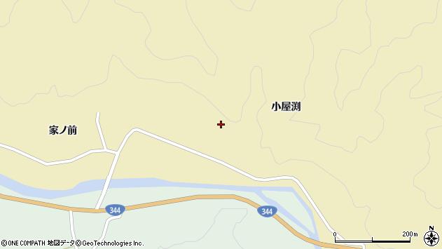 山形県酒田市北青沢家ノ前170周辺の地図