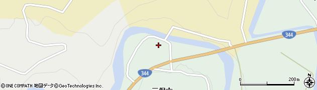 山形県酒田市上青沢三保六84周辺の地図