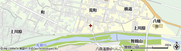 山形県酒田市麓荒町21周辺の地図