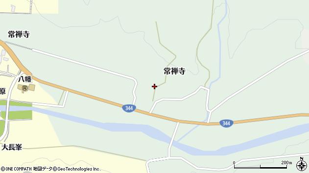 山形県酒田市常禅寺西ノ沢37周辺の地図
