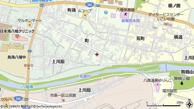 山形県酒田市観音寺町148周辺の地図