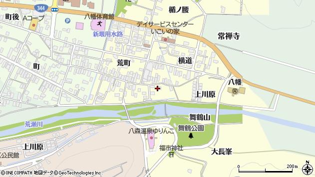 山形県酒田市麓荒町11周辺の地図