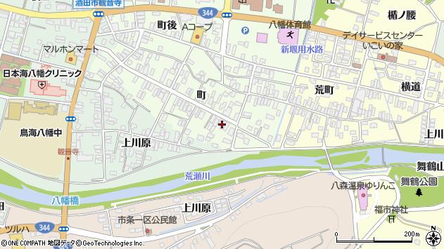 山形県酒田市観音寺町147周辺の地図