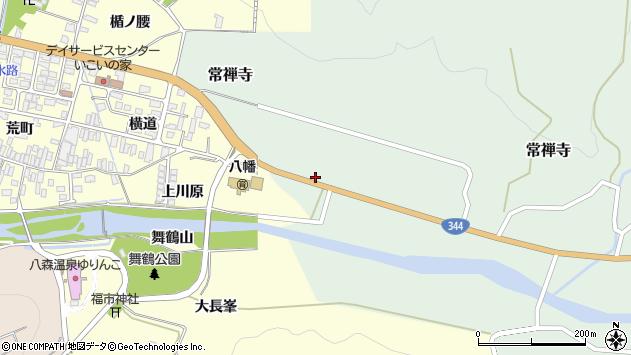 山形県酒田市常禅寺西田周辺の地図
