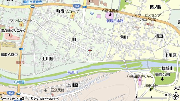 山形県酒田市観音寺町55周辺の地図