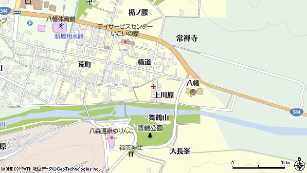 山形県酒田市麓上川原7周辺の地図